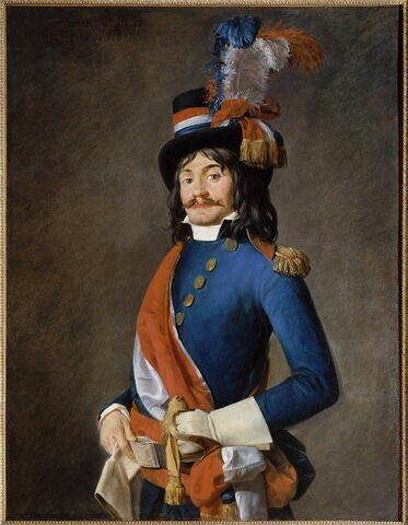 Portrait du Conventionnel Jean-Baptiste Milhaud, 1793