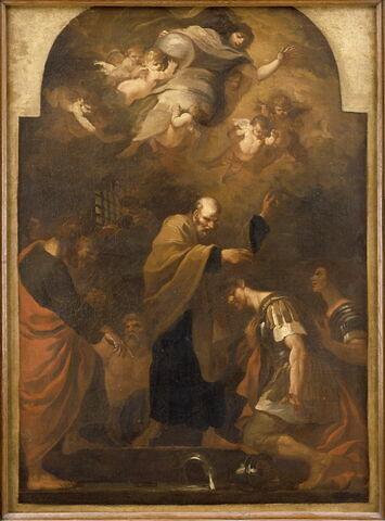 Saint Pierre baptisant saint Procès et saint Martinien en prison