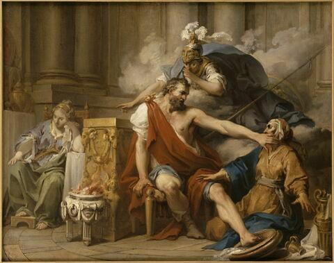 Ulysse reconnu par sa nourrice Euryclée