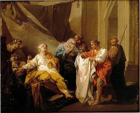 Les Frères de Joseph rapportant à leur père la tunique de Joseph