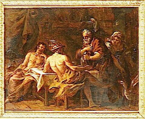 Mercure chez Philémon et Baucis