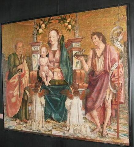 face, recto, avers, avant ; vue d'ensemble © 2009 Musée du Louvre / Peintures