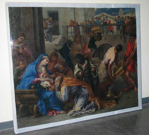 face, recto, avers, avant ; vue d'ensemble © 2010 Musée du Louvre / Peintures
