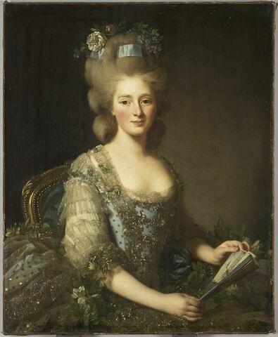 Portrait de Maire-Amélie Joséphine, archiduchesse d'Autriche, infante, duchesse de Parme