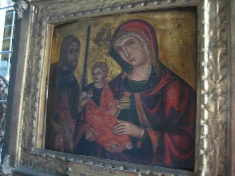 La Vierge et l'Enfant avec saint Roch
