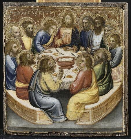Scènes de la Vie du Christ : La Cène.