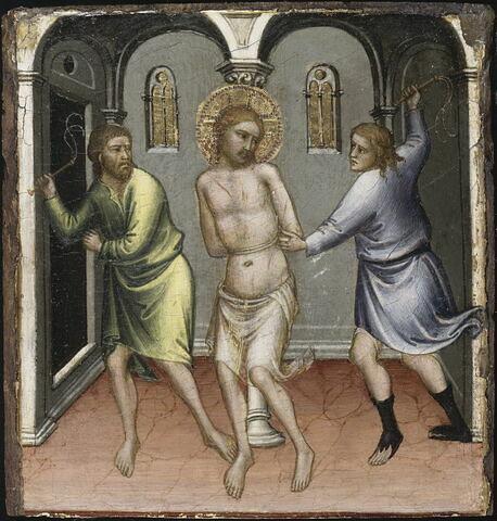 Scènes de la Vie du Christ : Flagellation.