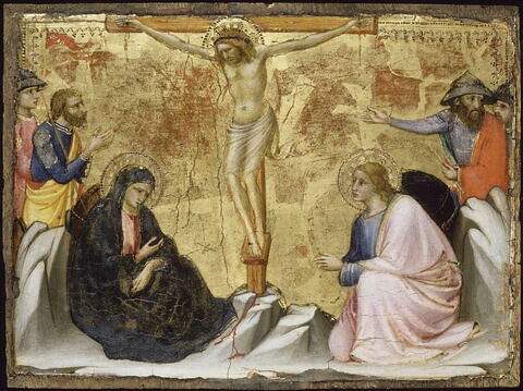 Scènes de la Vie du Christ : Crucifixion.