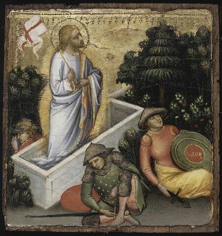 Scènes de la Vie du Christ : Résurrection.