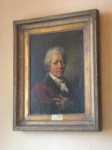 face, recto, avers, avant ; vue d'ensemble ; vue avec cadre © 2004 Musée du Louvre / Peintures