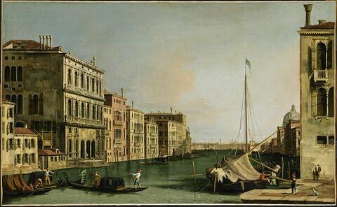 Vue du palais Cornaro à Venise