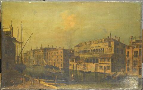 Le Grand Canal avec le Fondaco dei Turchi