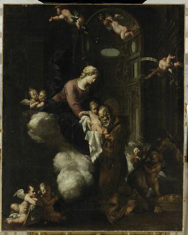 L'Apparition de la Vierge au bienheureux Félix de Cantalice