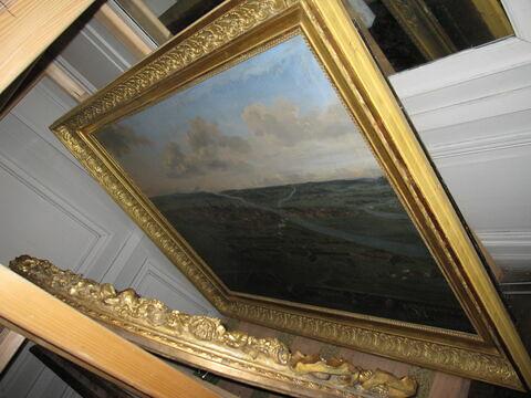 face, recto, avers, avant ; vue d'ensemble ; vue avec cadre © 2013 Musée du Louvre / Peintures