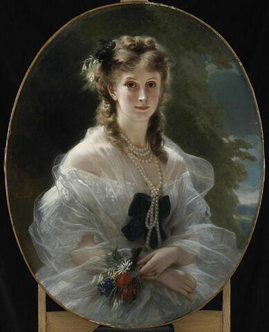 Portrait de la duchesse de Morny, née Sophie Troubetskoï (1838-1896)