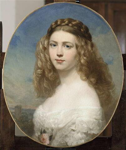 Portrait de la Princesse Amélie de Bavière