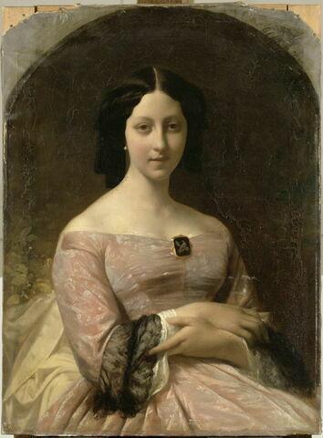 Portrait de Mlle A.C. Brémond, fille de l'artiste