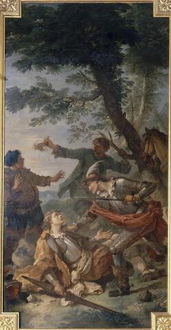 Don Quichotte et le chevalier des miroirs