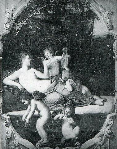 Vénus caressant des amours