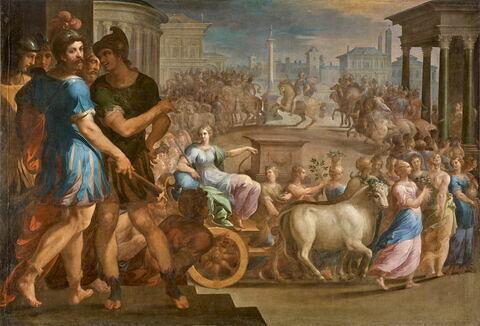 Cortège des Jeux Pythiens
