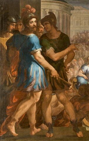face, recto, avers, avant ; détail © 2018 RMN-Grand Palais (musée du Louvre) / Thierry Ollivier
