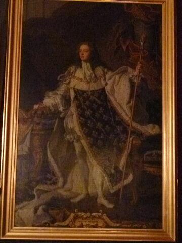 Portrait en pied de Louis XV