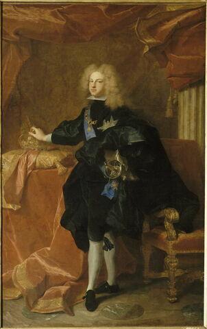 Portrait de Philippe V, roi d'Espagne