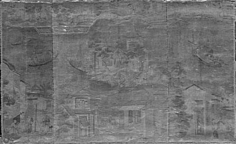Peintures décoratives : 5 panneaux décoratifs sur toile