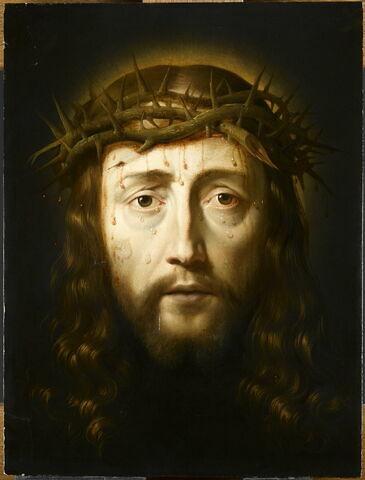 La Sainte Face couronnée d'épines