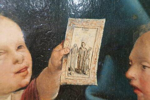 face, recto, avers, avant ; détail © 2018 Musée du Louvre / Peintures