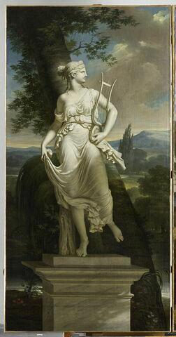 Statue de Polymnie