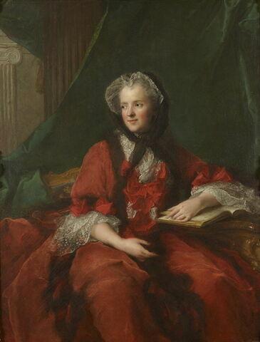 Portrait de la Reine Marie Leczinska