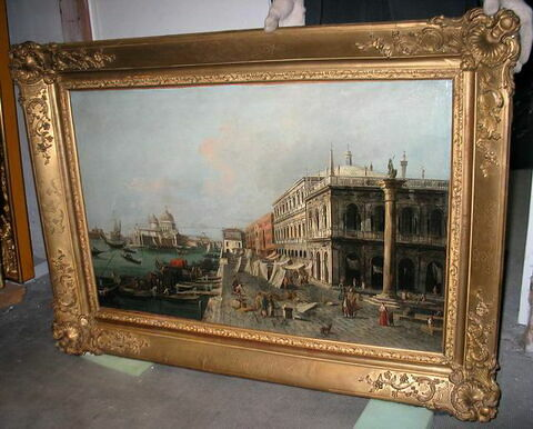 Vue du Môle devant la Zecca à Venise