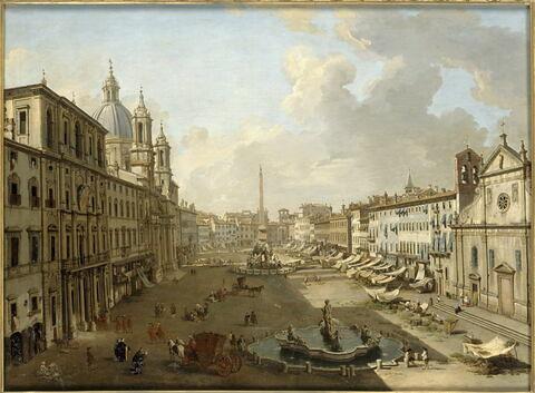 La Place Navone à Rome