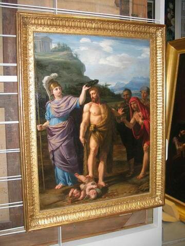 Hercule couronné par Minerve