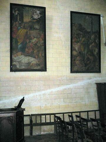 accrochage ; vue d'ensemble © 2008 Musée du Louvre / Peintures