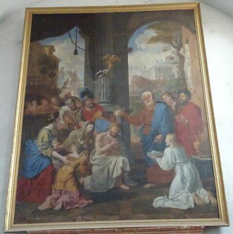 Saint Pierre baptisant le centenier