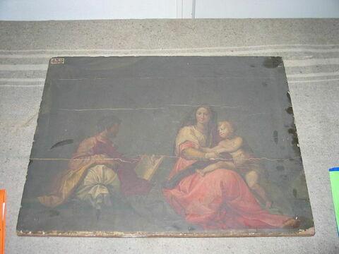 La Vierge au coussin