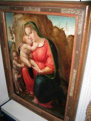 La Vierge, l'Enfant Jésus et le petit saint Jean