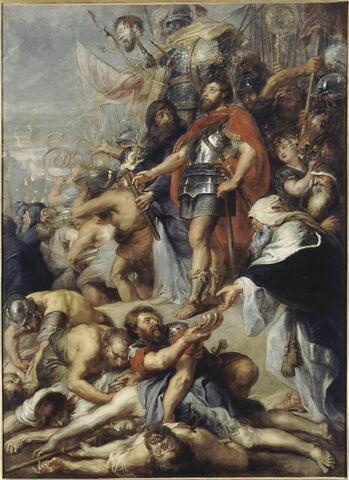 Judas Macchabée priant pour les morts