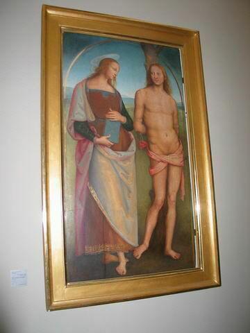 Saint Sébastien et sainte Apolline