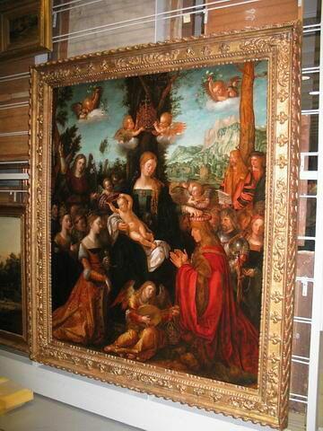 face, recto, avers, avant ; vue d'ensemble © 2007 Musée du Louvre / Peintures