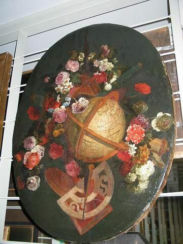 Un Trophée avec des fleurs