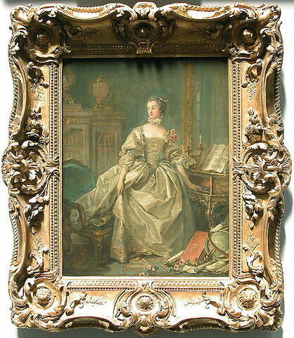 face, recto, avers, avant ; vue d'ensemble ; vue avec cadre © 2003 Musée du Louvre / Peintures