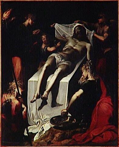 L'ensevelissement du Christ
