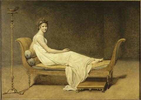 Madame Récamier, née Julie (dite Juliette) Bernard (1777-1849).