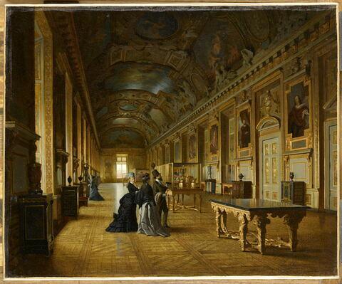 La galerie d'Apollon, au Musée du Louvre