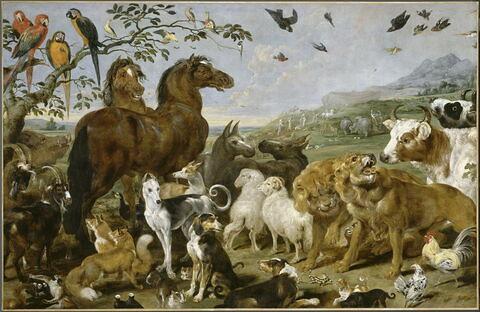 L'Entrée des animaux dans l'arche de Noé