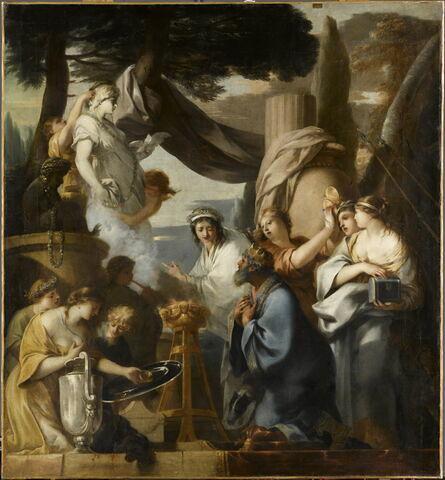 Salomon sacrifiant aux idoles