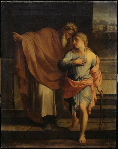 Jacob envoyant son fils Joseph chercher ses frères à Sichem
